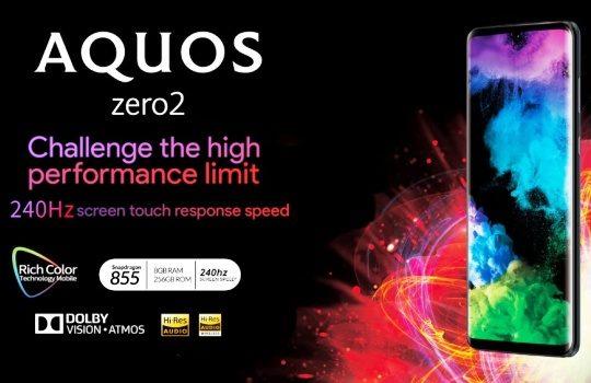 Harga Sharp Aquos Zero2 dan Aquos R3